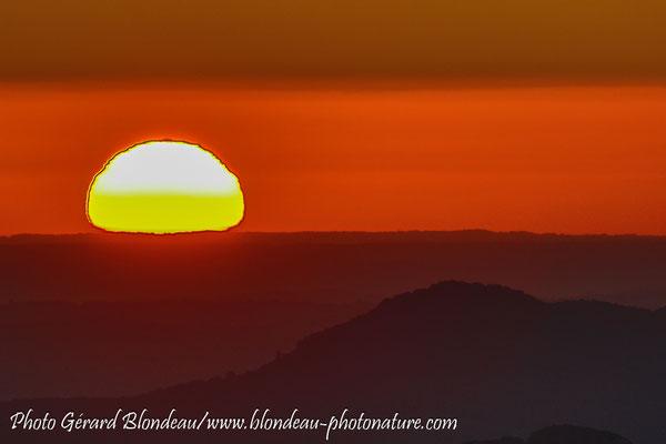Lever de soleil sur le col d'Organbidexka