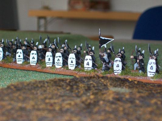chinesische Infanterie
