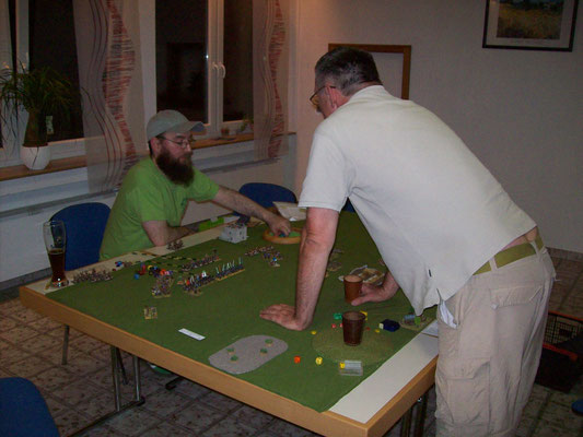 Andreas und Bodo beim Spiel