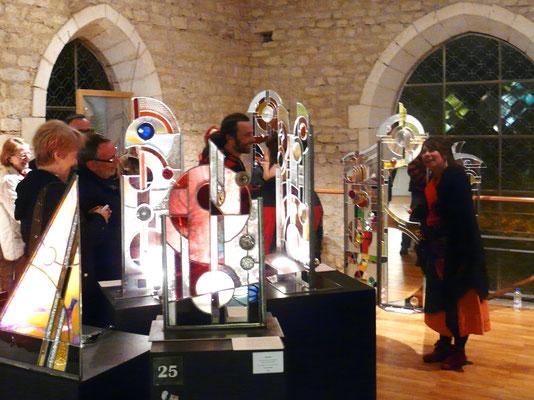 Visite contée - Nuit des Musées 2013 - Musée du Vitrail de Curzay sur Vonne