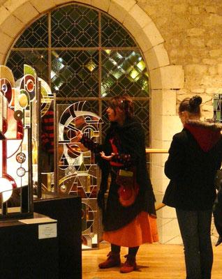 Nuit des Musées, Musée du Vitrail de Curzay sur Vonne - 2013