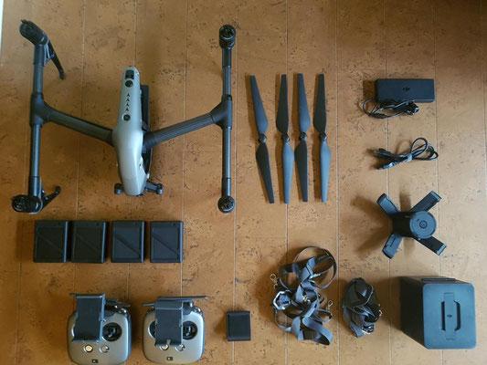 DJI Inspire 2 Equipment