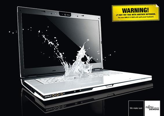 Fujitsu Siemens Computers | Art Direction: Carlo Joest