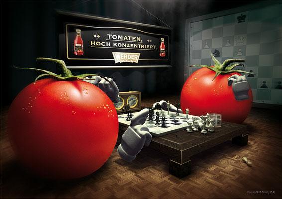 Werder Ketchup | Art Direction: Carlo Joest