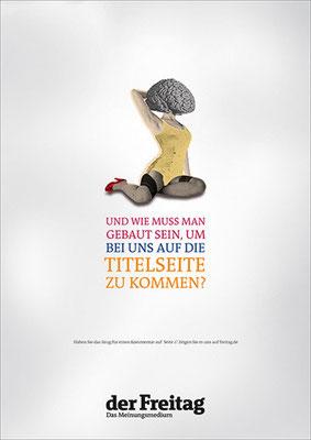 Launchkampagne Der Freitag | Art Direction: Carlo Joest