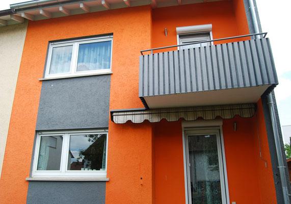 Doppelhaushälfte, Filderstadt bei Stuttgart, Südseite