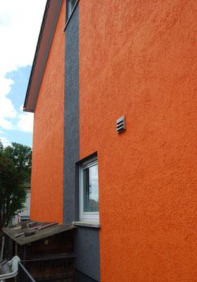 Doppelhaushälfte, Filderstadt bei Stuttgart, Westseite