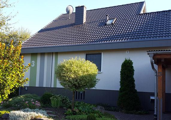 Einfamilienhaus, Möckmühl bei Heilbronn, Nordseite