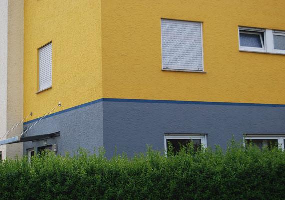 Reihenendhaus, Filderstadt bei Stuttgart, Westseite