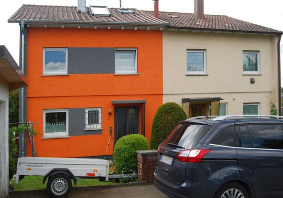 Doppelhaushälfte, Filderstadt bei Stuttgart, Nordseite