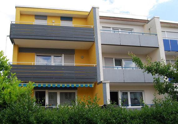 Reihenendhaus, Filderstadt bei Stuttgart, Südseite