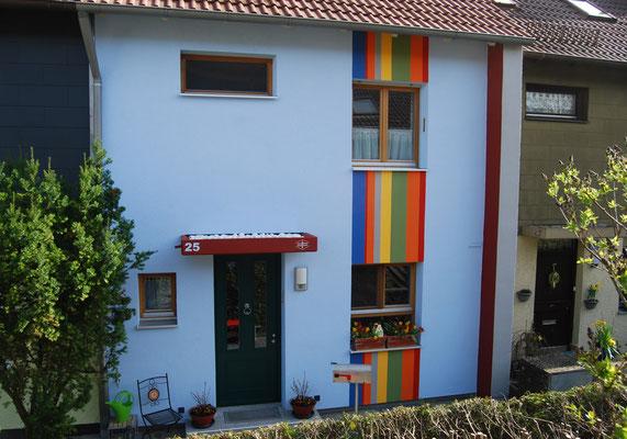 Reihenmittelhaus, Ingolstadt, Nordseite