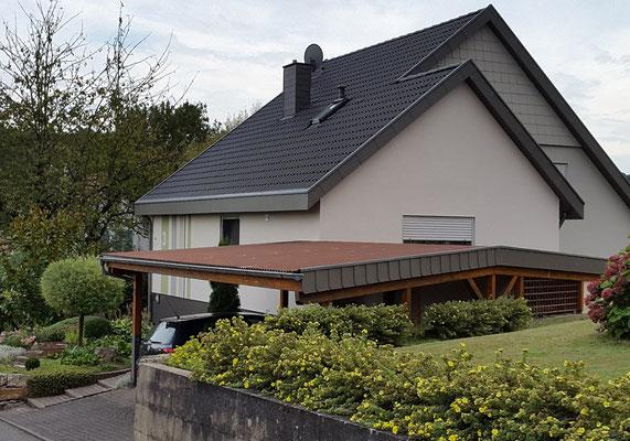 Einfamilienhaus, Möckmühl bei Heilbronn, Westseite