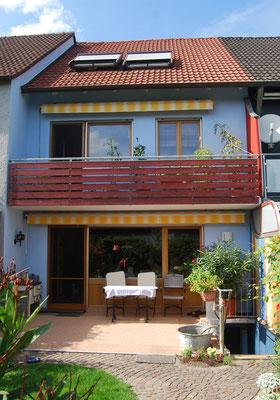 Reihenmittelhaus, Ingolstadt, Südseite