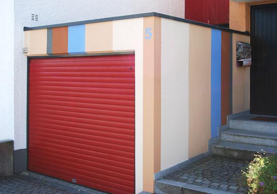 Reihenmittelhaus im Architekturstil, Garage,  Ingolstadt