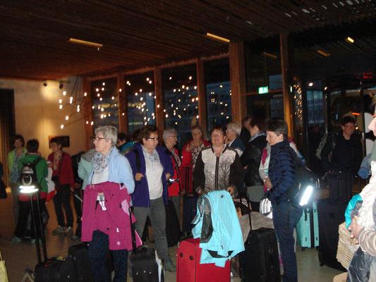 Ankunft Hotel Novotel Schipol Amsterdam