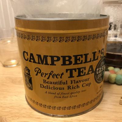 #ケニア#紅茶#CTC製法#CAMPBELL'SPERFECTTEA