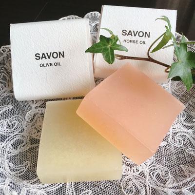 #いい香り!#無添加石鹸!#オリーブオイル石鹸 & #馬油石鹸 #Salon de Ruban