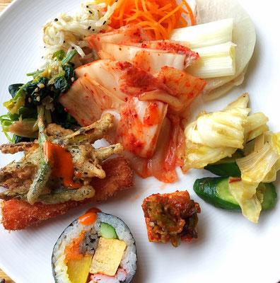 #韓国料理#ランチバイキング#胃袋二つ欲しい