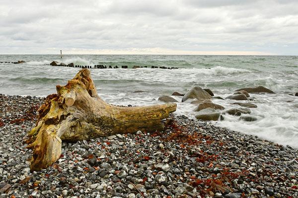 Strand bei den Kreidefelsen