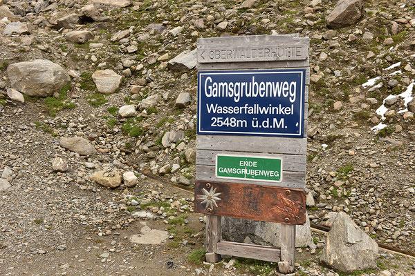 Gamsgrubenweg