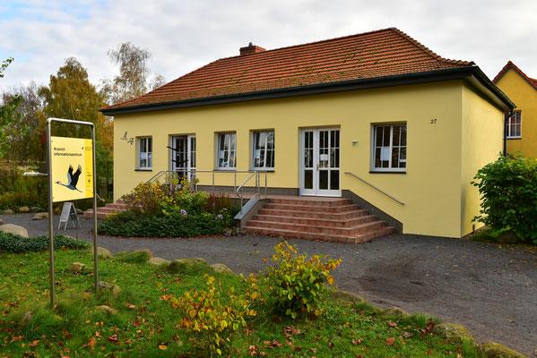Kranich Info-Zentrum Groß Mohrdorf