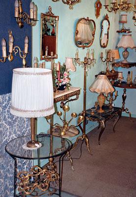 Vaste choix de luminaires en bronze direct artisan à l'atelier Lumibronze, Villevallier, Yonne