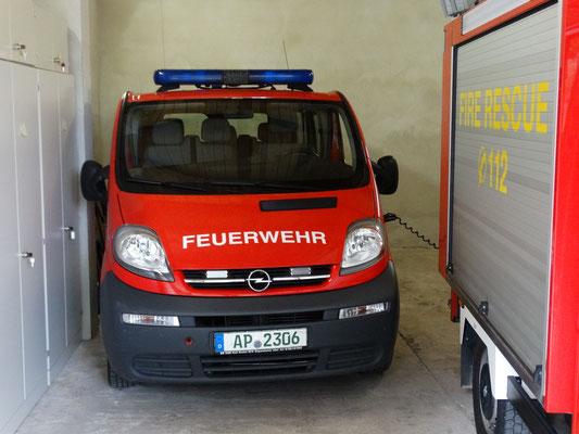 Trotz der engen Platzverhältnisse ist der MTW eine echte Bereicherung für die Feuerwehr Gutendorf.
