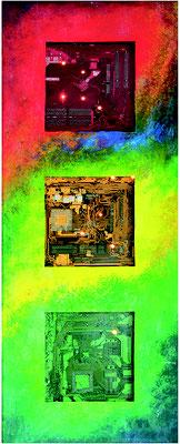 Pentium, 50x100cm, Skulptur