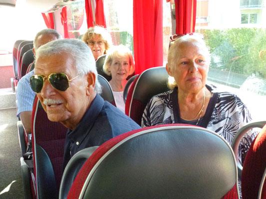 Unsere Schweizer Freunde steigen in Baden-Baden zu