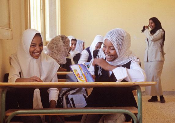 Schulkinder eines Dorfes, Libyen | Foto © Lutz Jäkel