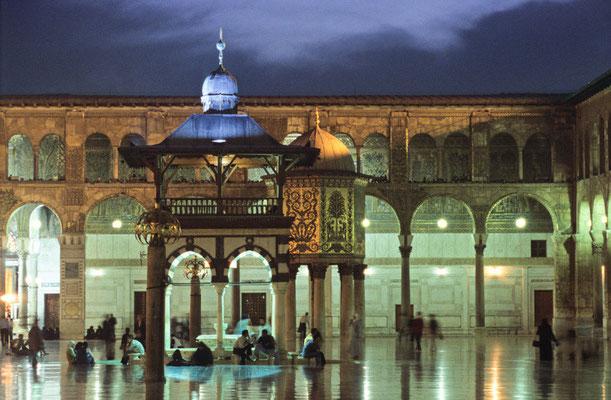 Umayyaden-Moschee in Damaskus | Foto © Lutz Jäkel