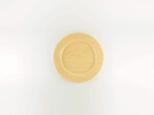 """seme wooden plate """"Obi"""" M01"""