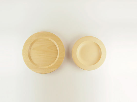 "seme wooden plate ""Obi"" Size comparison01"