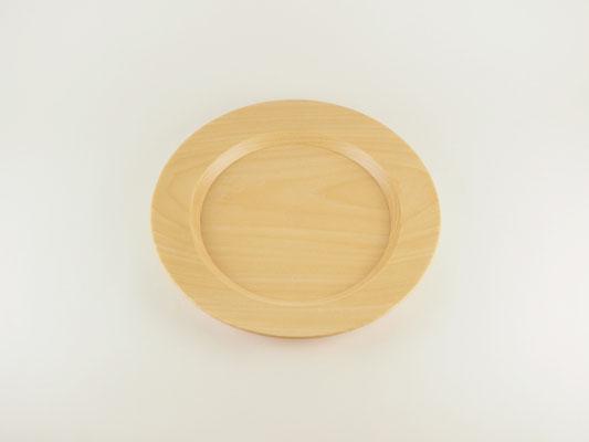 """seme wooden plate """"Obi"""" L01"""