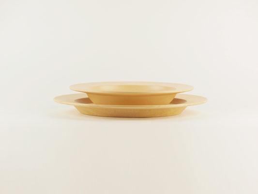 """seme wooden plate """"Obi"""" Size comparison02"""