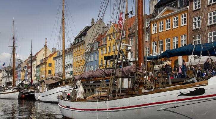 Kopenhagen, Mai 2014 Nyhavn, Kopenhagen