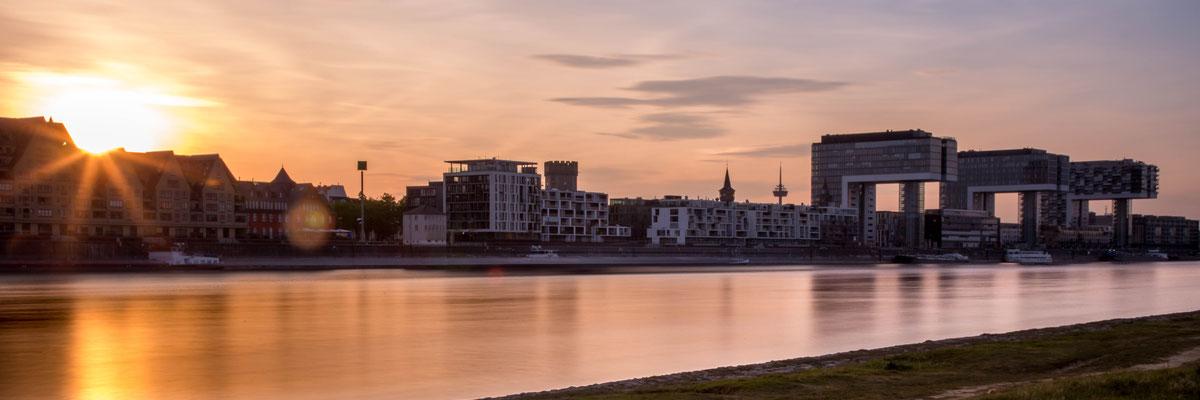 Kranhäuser am Rheinauhafen, Köln
