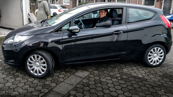 "Johannes's erstes Auto ""Ford Fiesta"""