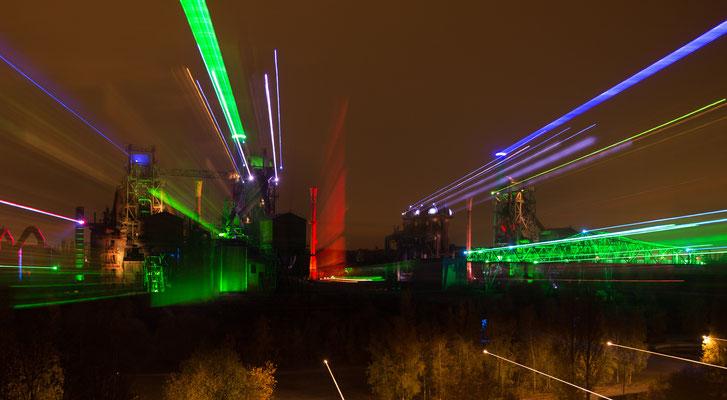 Illuminierter Landschaftspark, Duisburg-Nord