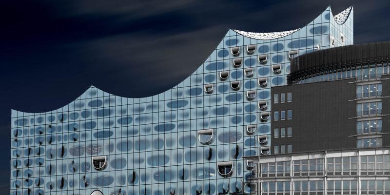 Hafencity, Elbphilharmonie und Elbpromenade