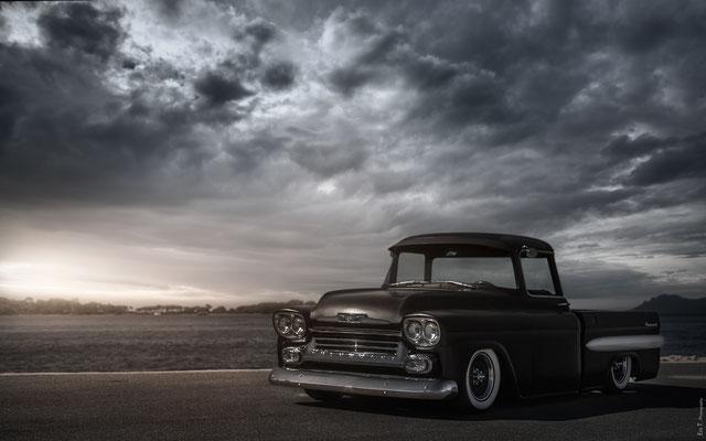 Chevrolet 3100 Apache Fleetside 1959 V8 5,7L (Mr Frédéric H. 06)