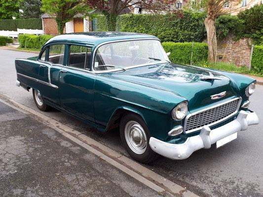 Chevrolet Bel Air 1955 V8 4,3 l (Mr Sébastien G. 59)