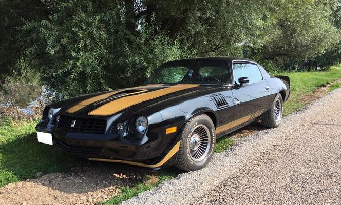 Chevrolet Camaro 1979 V8 5,7 l (Mr Serge D. 54)