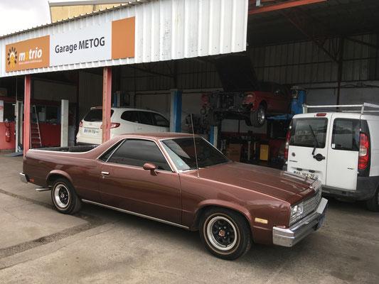 Chevrolet El Camino 1984 V8 5 l (Mr Christophe F. 97)