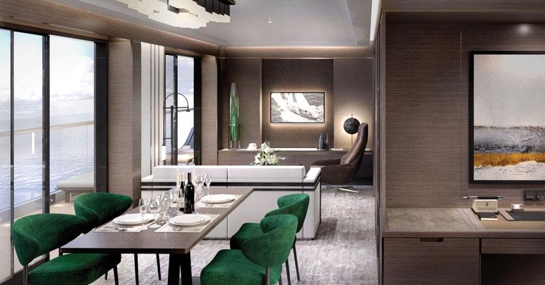 Grand Suite - Wohnbereich