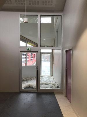 Deuxième porte d'entrée des maternels