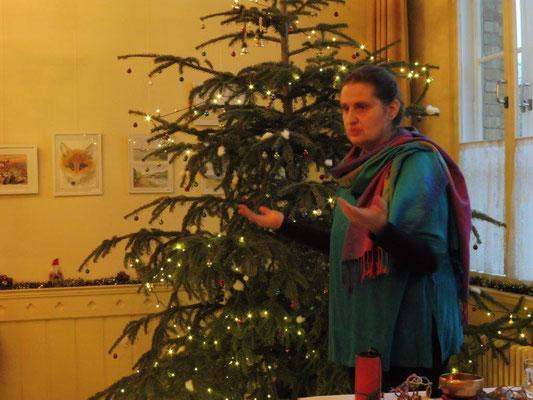 Astrid Heiland erzählt Märchen im Bürgertreffe Lichterfelde West