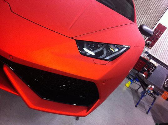 Lamborghini Huracan Komplettfolierung
