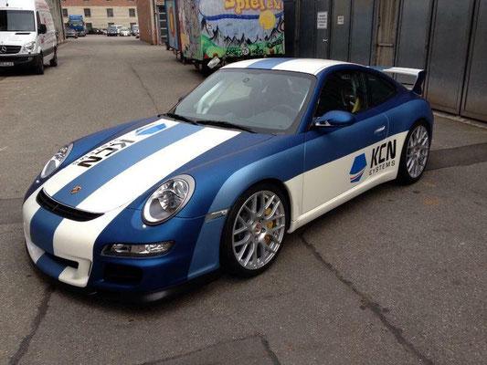 Porsche GT3 Komplettfolierung